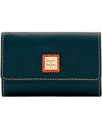 Dooney & Bourke - Pebble Grain Flap Wallet - Lyst