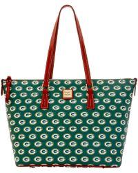 Dooney & Bourke - Nfl Packers Zip Top Shopper - Lyst