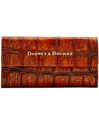 Dooney & Bourke - Covington Continental Clutch - Lyst