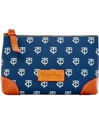 Dooney & Bourke - Mlb Twins Cosmetic Case - Lyst