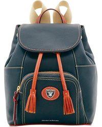 Dooney & Bourke - Nfl Raiders Medium Murphy Backpack - Lyst