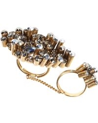 Dorothee Schumacher | Crystal Edge Double Ring | Lyst