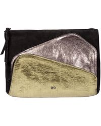 Dorothee Schumacher - Metallic Mix Up Multi Metallic Pocket Clutch - Lyst