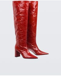 Dorothee Schumacher - Glossy Ambition Tall Pull On Boot (7cm) - Lyst