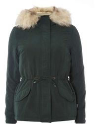 Dorothy Perkins - Only 'lucca' Parka Coat - Lyst
