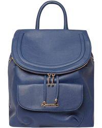 Dorothy Perkins - Blue Foldover Backpack - Lyst