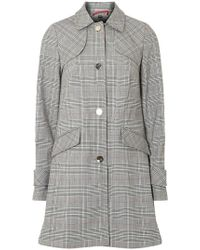 Dorothy Perkins - Multi Coloured Checked Bonded 'dolly' Mac - Lyst