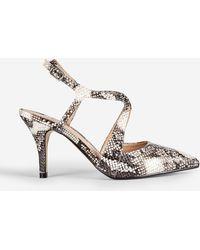 81bfa8494c Dorothy Perkins Pink 'glitz' Slingback Court Shoes in Pink - Lyst
