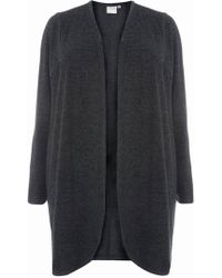 Dorothy Perkins - Juna Rose Curve Green Soft Touch Cardigan - Lyst