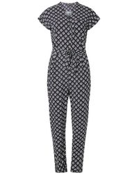Dorothy Perkins - Petite Multi Coloured Geometric Print Jumpsuit - Lyst