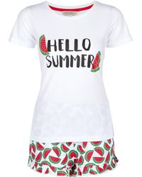 Dorothy Perkins - Red Watermelon Pyjama Set - Lyst