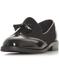 29df8a4be5d Dorothy Perkins - Head Over Heels By Dune Black  glad  Ladies Flat Shoes -