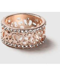 Dorothy Perkins - Cut Out Flower Ring - Lyst