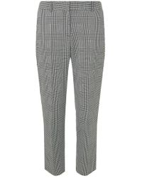 Dorothy Perkins - Multi Coloured Side Stripe Checked Trousers - Lyst