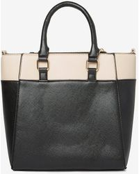 Dorothy Perkins - Black Mini Colour Block Tote Bag - Lyst