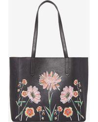 Dorothy Perkins | Black Embroidered Shopper Bag | Lyst