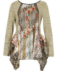 Dorothy Perkins Womens *Izabel London Multi Coloured Tunic Top- Limited New Cheap Sale Browse Outlet Where Can You Find XrXVr