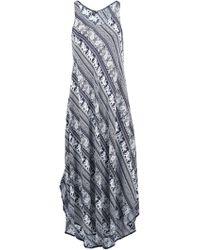 f77124ef6459 Boohoo · Dorothy Perkins - Izabel London Multi Colour Elephant Print Maxi  Dress - Lyst