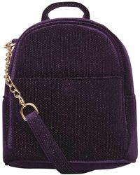 Dorothy Perkins - Purple Mini Cross Body Backpack - Lyst