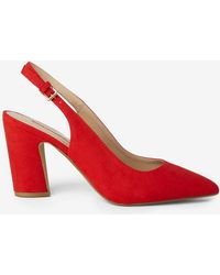 Dorothy Perkins - Red 'evandra' Court Shoes - Lyst