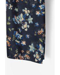 Dorothy Perkins - Vero Moda Floral Print Scarf - Lyst
