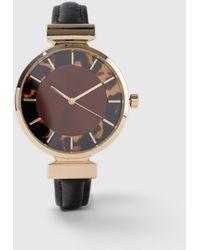 Dorothy Perkins - Multi Coloured Tortoiseshell Watch - Lyst