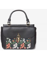 Dorothy Perkins - Black Floral Embroidery Print Tote Bag - Lyst