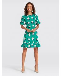 Draper James - Magnolia Tulip Ponte Dress - Lyst