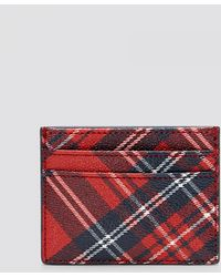 Draper James - Plaid Card Holder - Lyst