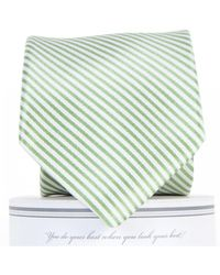a6bba77b0f8c Draper James - Collared Greens Signature Series Stripe Necktie - Lyst