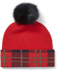 Draper James - Plaid Hat - Lyst