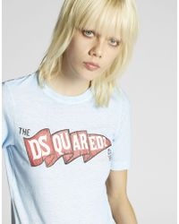 DSquared² - The D2 Camp T-shirt - Lyst