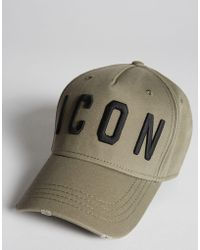 DSquared² - Icon Baseball Cap - Lyst