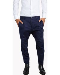 DSquared² - Chain Detail Chino Pants - Lyst