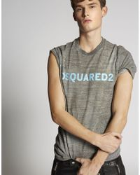 DSquared² - Short Sleeve T-shirt - Lyst