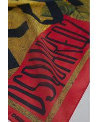 DSquared² - Botanic Eden Silk & Woven Foulard - Lyst