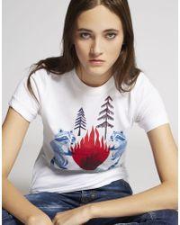 DSquared² - Short Sleeve T-shirt - Lyst
