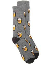 K. Bell - Beer Crew Socks - Lyst