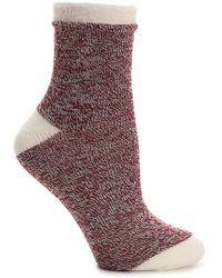 Sof Sole - Marled Slipper Socks - Lyst