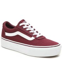 c16ab44fa17924 Lyst - Vans Ward Lo Sneaker in Gray