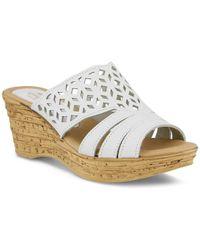 Spring Step - Vino Wedge Sandal - Lyst