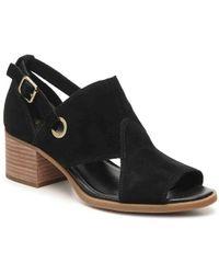 05af635c9b7fb Lyst - UGG Claudette Block Heel Sandal in Black