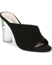 dc217bdac7b Lyst - Seychelles Goodfortune Peep-Toe Ankle-Wrap Sandal in Metallic