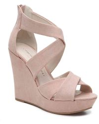 Chinese Laundry - Milani Wedge Sandal - Lyst