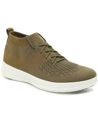 1b44503eecae41 Fitflop - Uberknit Slip-on High Top Sneaker Hi Trainers - Lyst