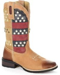Durango - Pull-on Mustang Cowboy Boot - Lyst