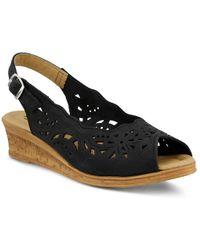 Spring Step - Orella Wedge Sandal - Lyst