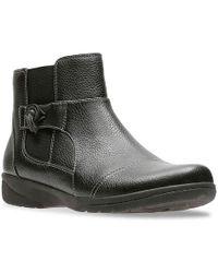 Clarks - Cheyn Work Ankle Boot - Lyst