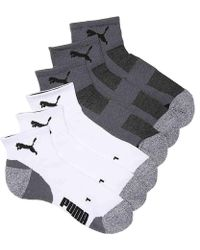 PUMA - Coolcell Ankle Socks - Lyst