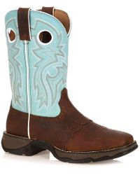 Durango - Saddle Cowboy Boot - Lyst